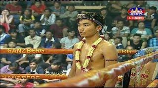 Chan Bunhoeun vs Phat Thana(thai), Khmer Boxing Seatv 24 March 2018, Kun Khmer vs Muay Thai