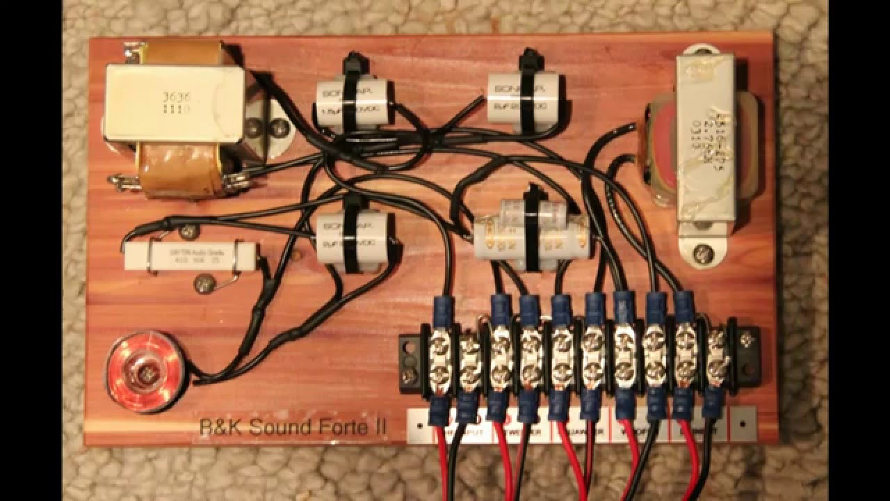 Klipsch Forte Ii Rewired And Updated For Bi Amping Or Wiring Speakers Youtube