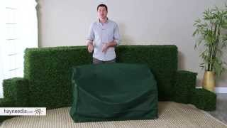 Outdoor Bench & Glider Cover - Product Review Video