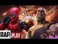 DEADPOOL VS THANOS RAP | Kronno Zomber ft. Hollywood Legend Beats (Video Oficial)