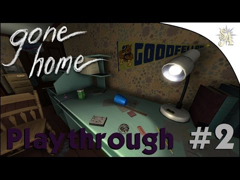Gone Home Playthrough: #2 - Teenage Angst