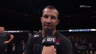 Fight Night Pittsburgh: Luke Rockhold Octagon Interview