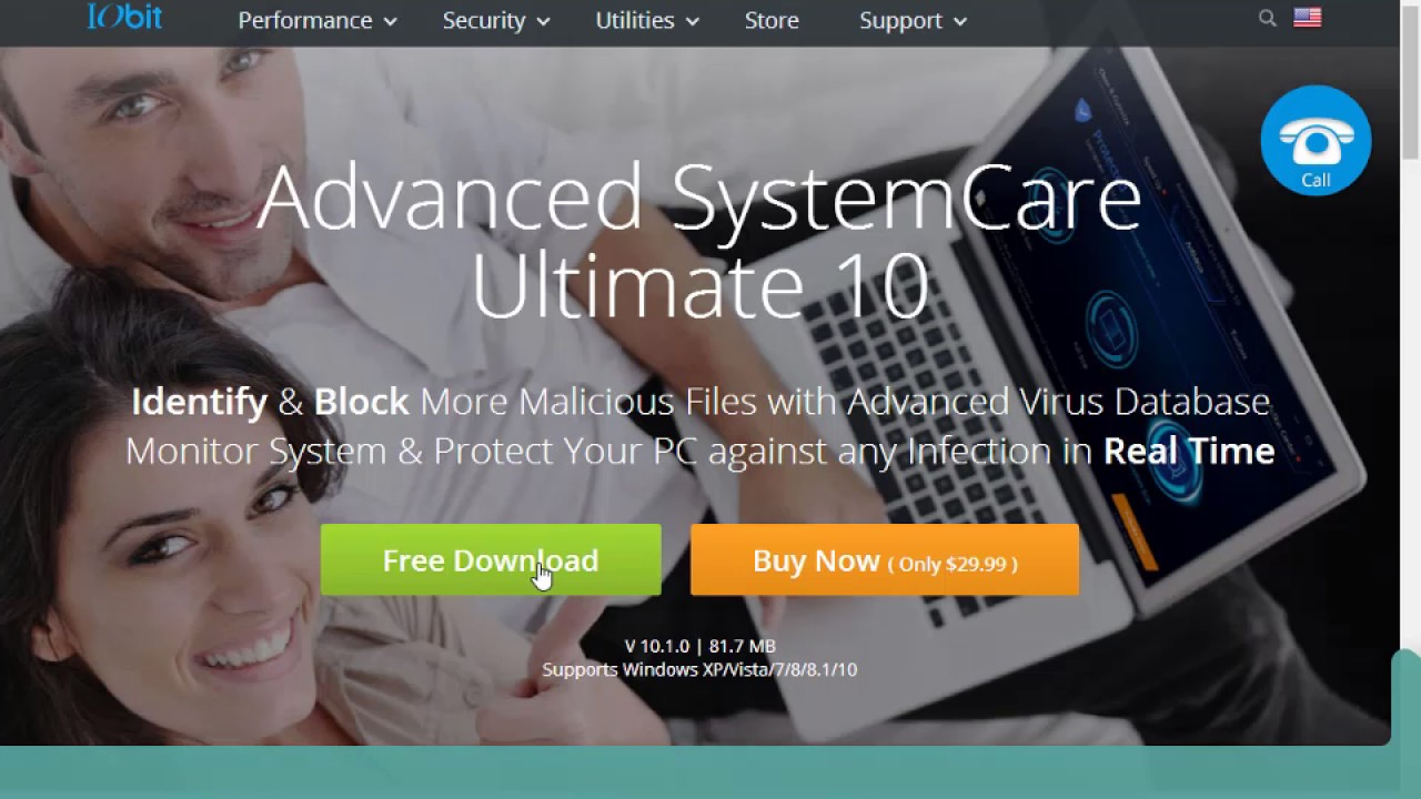 Advanced SystemCare 11.1 PRO 2018 + Serial Key 100% Funcional