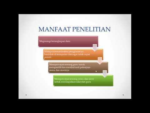 Presentasi Proposal Penelitian Youtube
