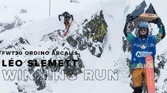 FWT20 Ordino Arcalís Andorra | Ski Men Winning Run Léo Slemett