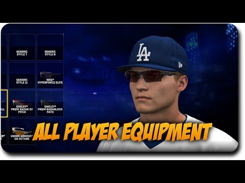 MLB The Show 17 All Customizable Player Equipment