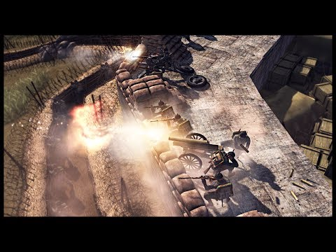 ITALIAN FORT DEFENSE! Twin Mountain Fortresses Under Siege - Men of War RobZ Realism Mod Gameplay