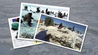 Сахалин, зимняя рыбалка!(Научиться делать свои эксклюзивные видео ролики, не сложно! Двери Академии Профессиональных Курсов