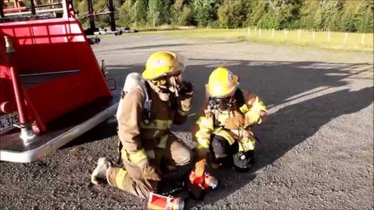 Surprise Firefighter Wedding Entrance