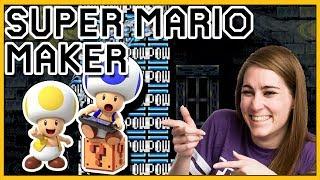 Mario Makin MOVES // Mario Maker [100 Mario Challenge]