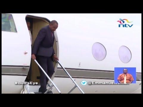 'Jah Love!': What Did Uhuru Bring From Jamaica?    Bull's Eye