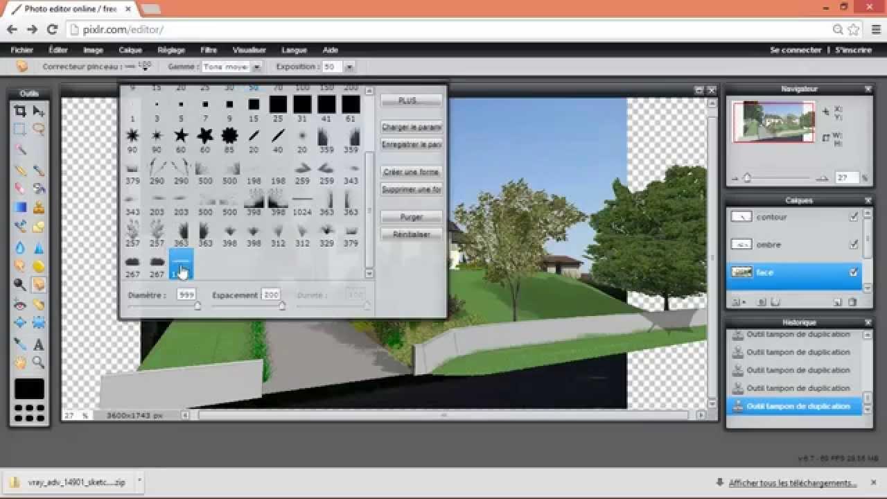 Tuto dessiner sa maison avec sketchup chapitre 4 for Plan maison sketchup