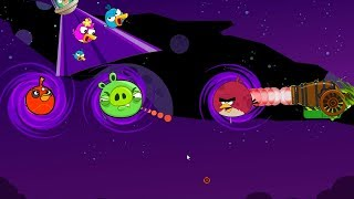 Angry Birds Collection Cannon 5 - RESCUE TEAM BIRDS BY HITTING PIG THROUGH BLACK HOLE!