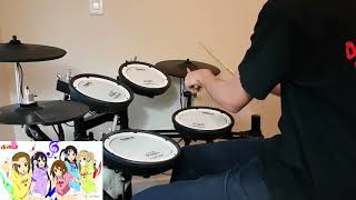 K ON!! Full ED 【けいおん!!】  NO,Thank You!   Drum Cover