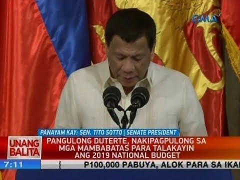 UB: Panayam kay Sen. Tito Sotto, Senate President