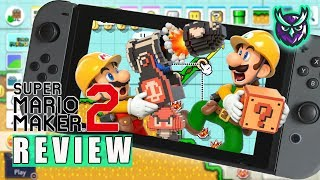 Super Mario Maker 2 Switch Review - The Ultimate 2D Mario (Video Game Video Review)