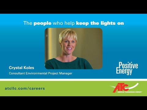 The people who help keep the lights on: Crystal Koles, Consultant Environmental Project Manager