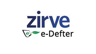 Zirve e-Defter Kullanımı