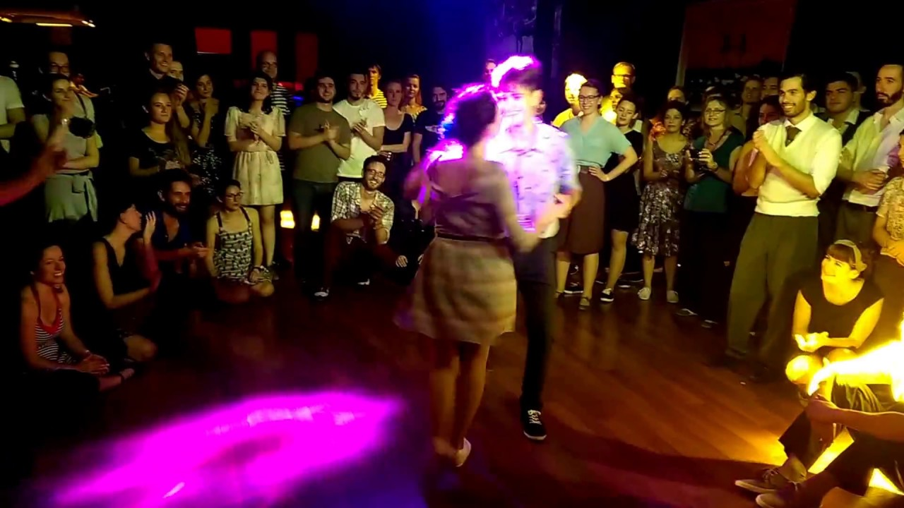 Orient Lindy Express 2014 - Jam Circle with Flapper Swing Band