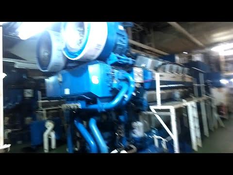 Drill ship engine room/ экскурсия по машинному отделению