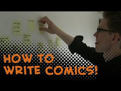 How to write for comics! Comics for Beginners episode 2