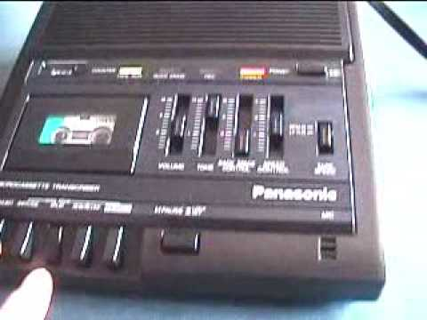 Panasonic Microcassette Transcriber RR-930 New In Box!