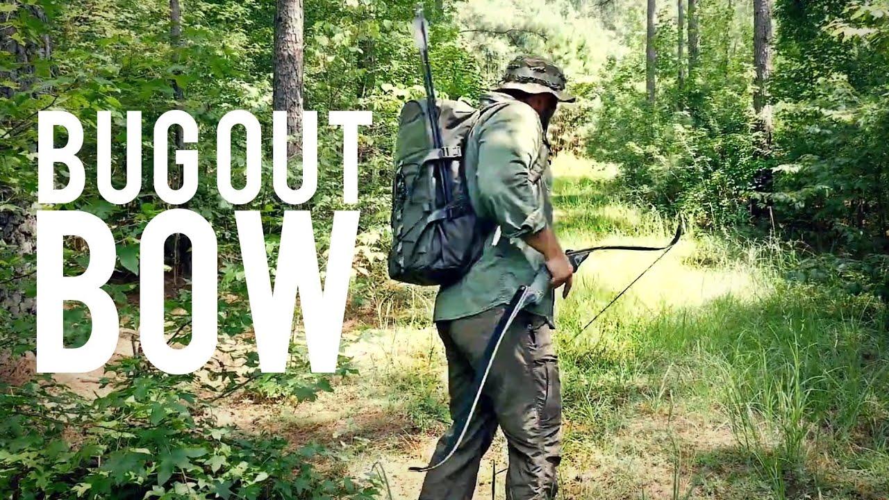 BUG OUT BAG Takedown Bow and Arrow