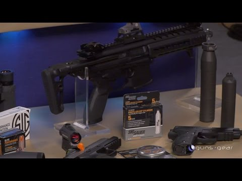 Sig Sauer's Complete Line: Guns, Ammo, Optics, and more!: Guns & Gear|S8 E7