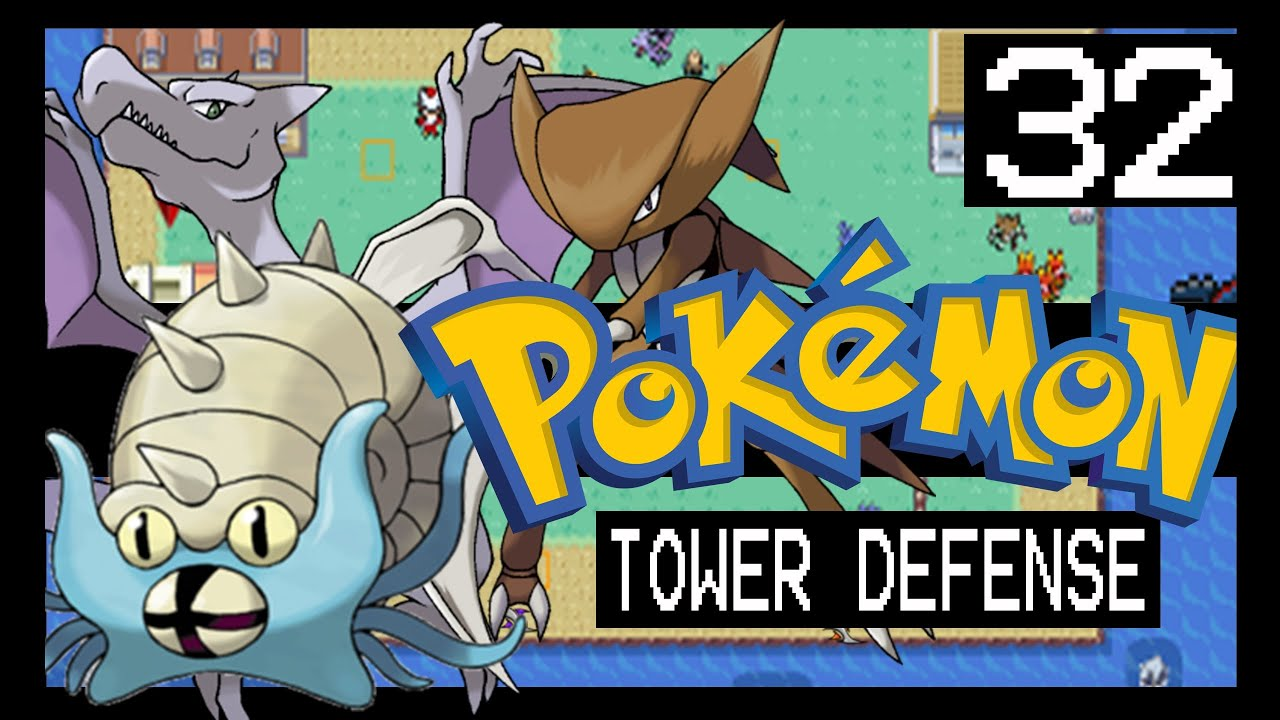 Pokemon Tower Defense Walkthrough - Cinnabar Island - YouTube