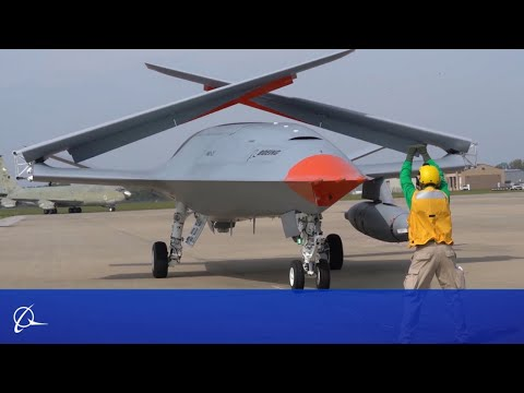 Boeing MQ-25 Gets Ready for U.S. Navy Aircraft Carriers