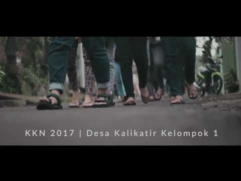 Video Dokumentasi Kegiatan KKN 2017 Ds. Kalikatir, Kelompok 1, Gel. 1