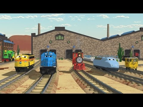 The Number Adventure at the Train Factory with Shawn and Team! - Full Cartoon thumbnail