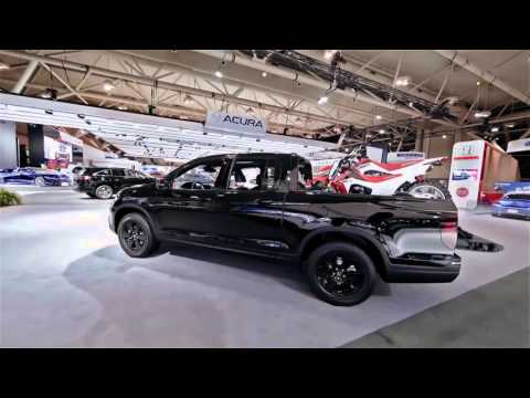 First Look at the 2017 Honda Ridgeline at the Toronto Auto Show!