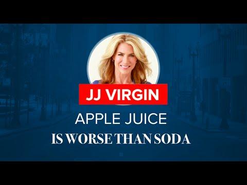Why Apple Juice Is Worse Than Soda   JJ Virgin