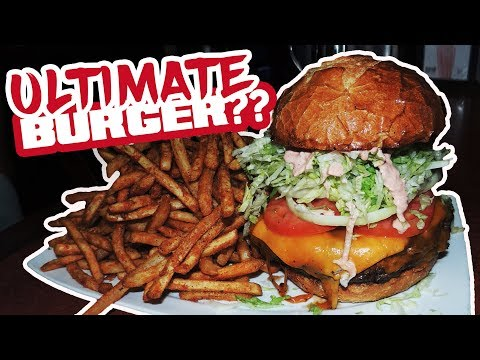 Nicky Rottens Ultimate Burger Challenge in San Diego!!