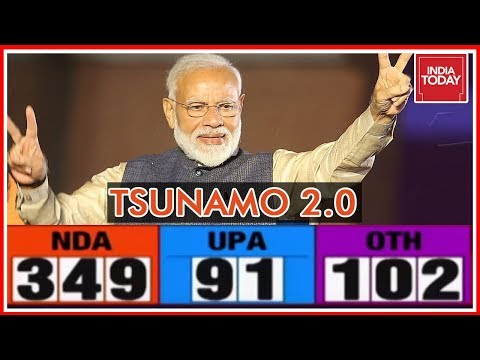 Tsunamo 2.0 | Election Results 2019 Updates & Analysis With Rajdeep Sardesai