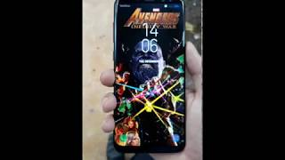3D wallpaper avengers infinity war