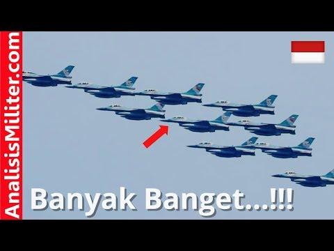 Lawan Negara Besar, Indonesia Kirim 8 Jet Tempur F-16 Block 52ID ke Pitch Black 2018