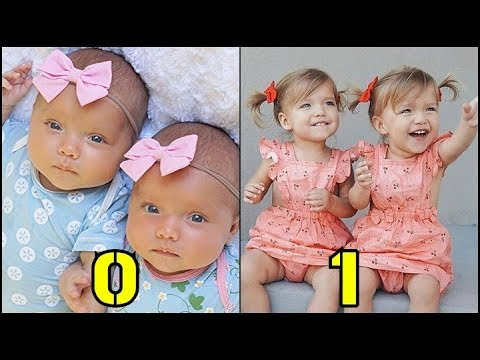 Taytum and Oakley From Baby to Toddler