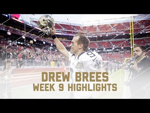 Drew Brees Goes for 323 Yards & 3 TDs! | Saints vs. 49ers | NFL Week 9 Player Highlights