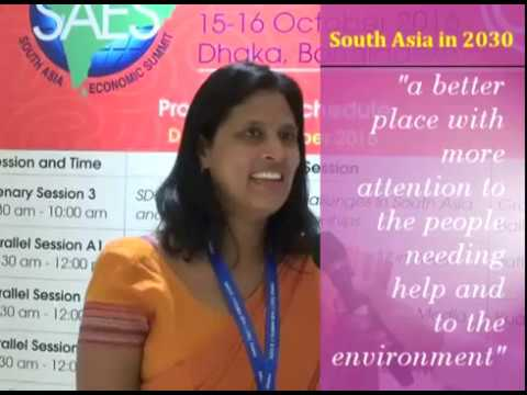 Reimagining South Asia in 2030- Ms Karin Fernando, Centre for Poverty Analysis (CEPA), Sri Lanka