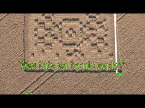 Crop Circle Aliens Theory, Folklore & Findings Explained ... |Chilbolton Crop Circle Explanation