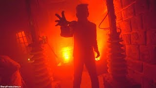 Universal Monsters (Full Maze) at Halloween Horror Nights at Universal Studios Hollywood
