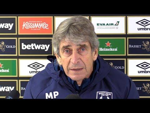 Manuel Pellegrini Full Pre-Match Press Conference - West Ham v Manchester City - Premier League