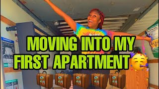 MOVING OUT/EMPTY APARTMENT TOUR VLOG!!!!