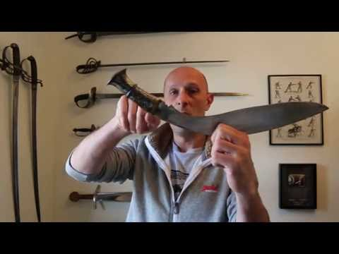 The Kukri Notch - Nothing To Do With Blood....