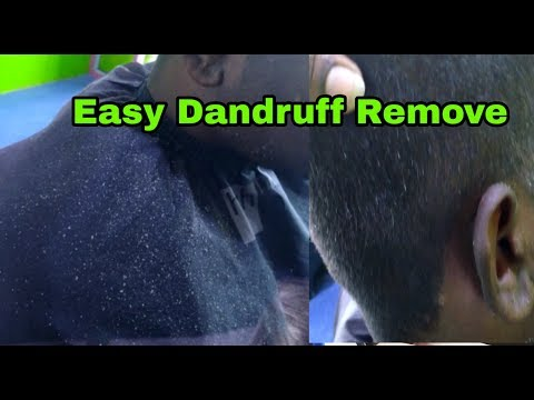 Best Dandruff Remove Method With Comb At My Saloon | Relax ASMR Massage