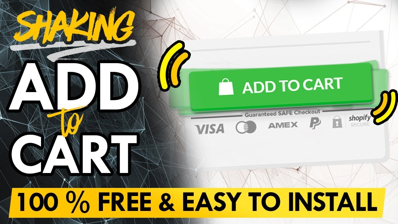 [100% FREE] Make Your Add To Cart Button Shake - Shopify Tutorial