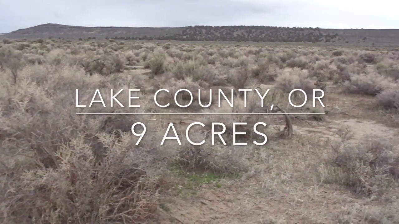 9 Acres in Lake County, Oregon! Ridge Views!