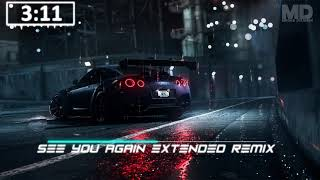 Wiz Khalifa ft. Charlie Puth - See You Again Extended Remix